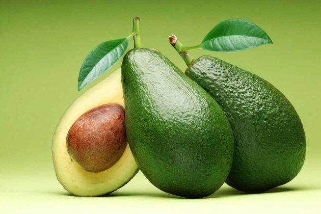 abacate para a pele e cabelo