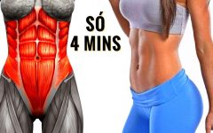 Os 5 Exercícios Simples Para Perder Barriga Rápido!