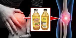 Receita com vinagre paracombate artrite e dores