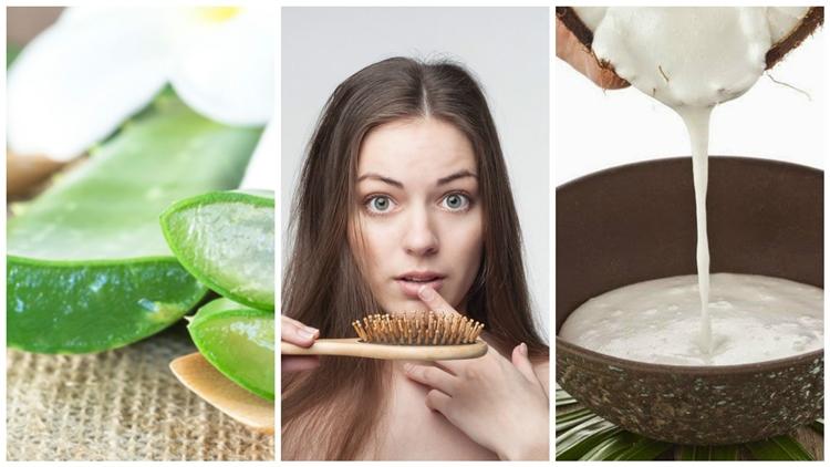 receitas caseiras para prevenir a queda de cabelo