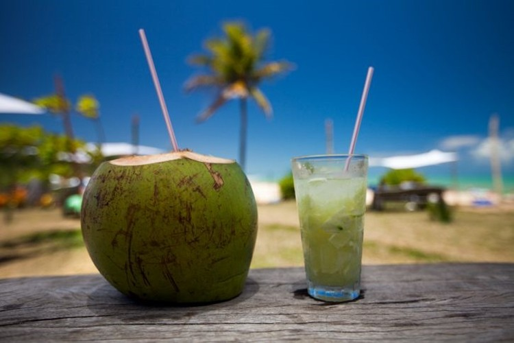 água de coco reduz a pressão arterial