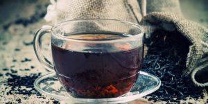 como funciona o chá preto?