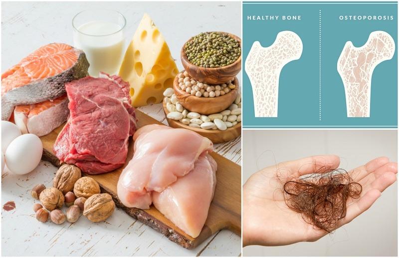 sintomas de deficiencia de proteinas