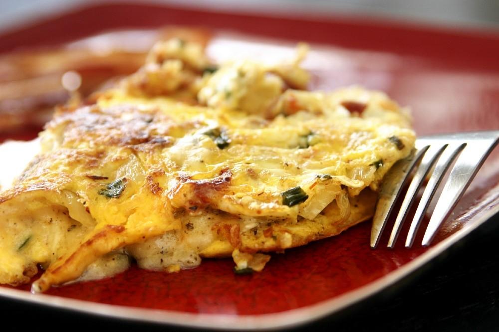 Receita de Omelete Fitness