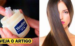 Como Usar a Vaselina Para um Crescimento Capilar Extremamente Rápido!