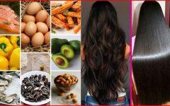 Os 14 Melhores Alimentos Que Fazem o Cabelo Crescer!
