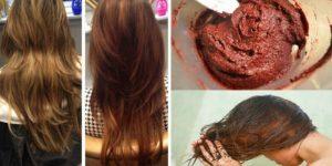 cafe para tingir o cabelo naturalmente