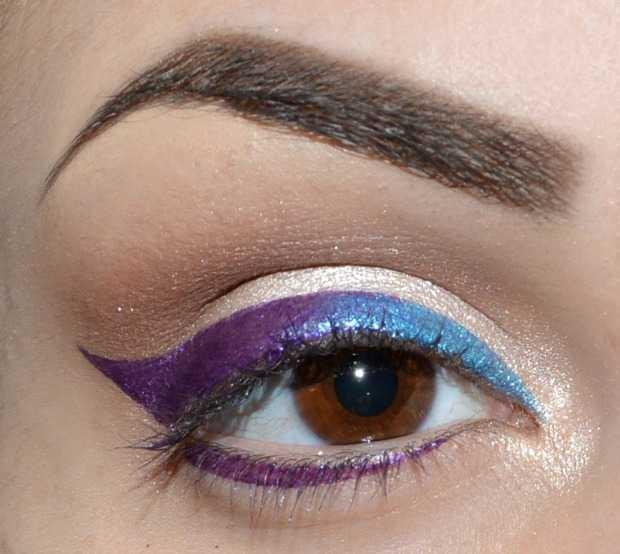 ampliar o look criando uma maquiagem