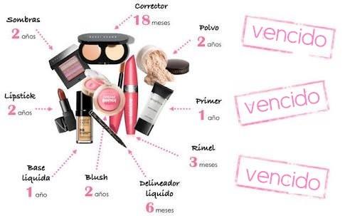 cosméticos não expiram