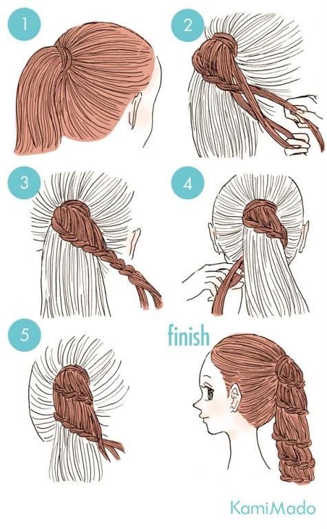 Penteados Lindos Para Fazer Sozinha e Arrasar