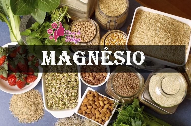 magnesio alimentos