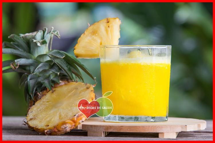 agua de abacaxi beneficio