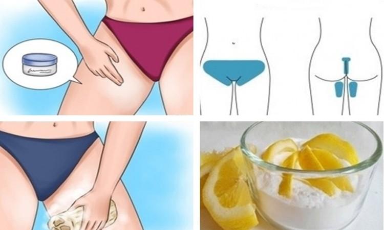 maneiras naturais para clarear a pele da parte íntima