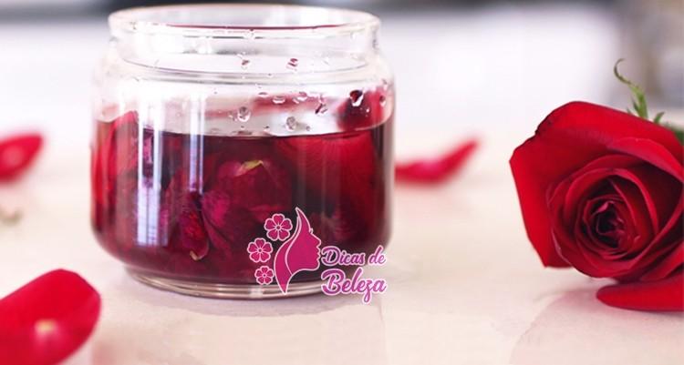 como fazer aleo de rosas caseiro