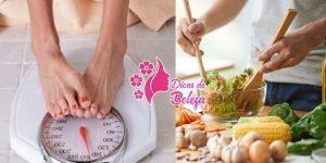 parar de engordar