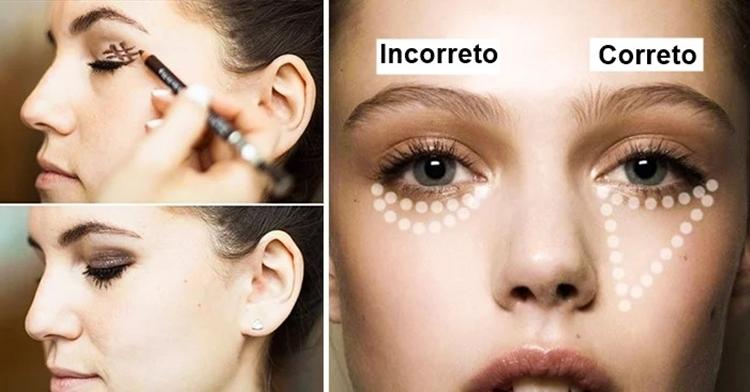 truques para maquiagem