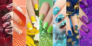tendencias de unhas decoradas para o carnaval