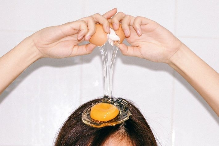 como usar o ovo em máscaras capilares?