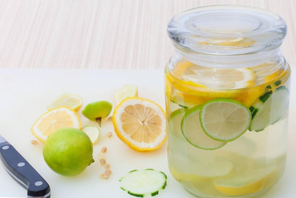 Desintoxicação capilar pepino e limão
