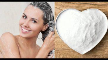 Desintoxicação do cabelo com bircabonato de sódio