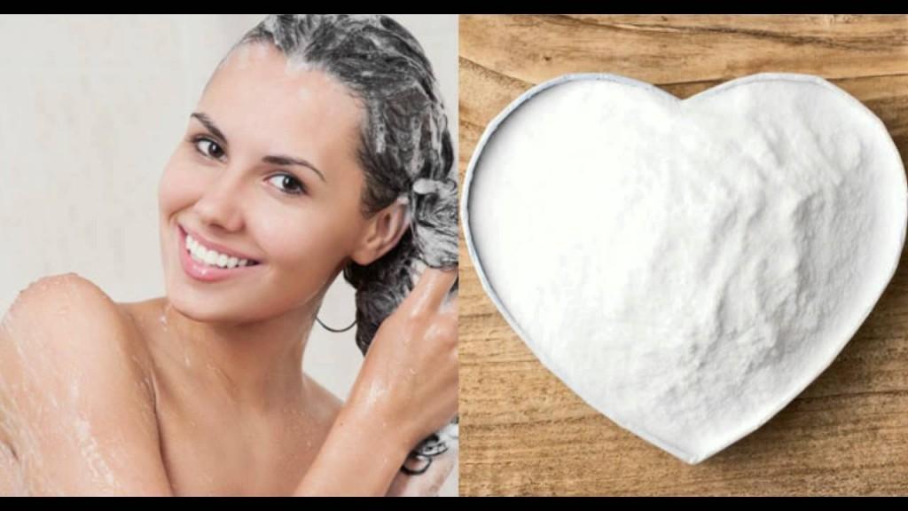 Desintoxicação do cabelo com bicarbonato de sódio