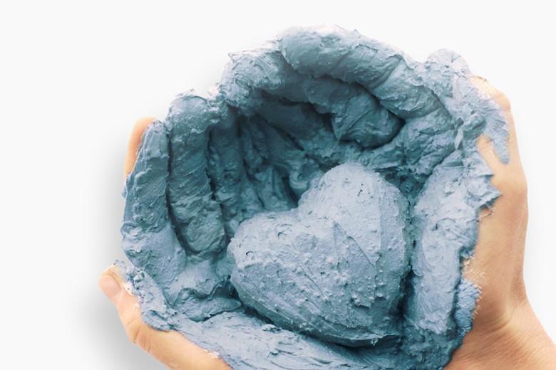 argila azul