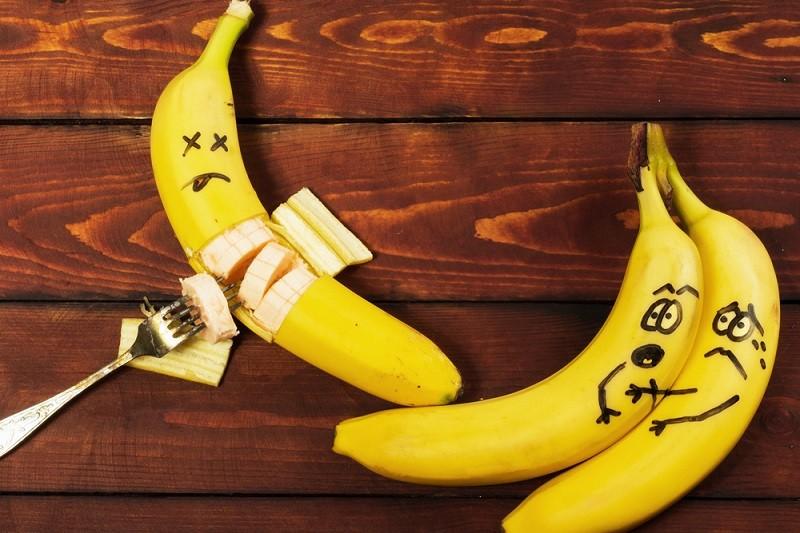 banana para o cabelo