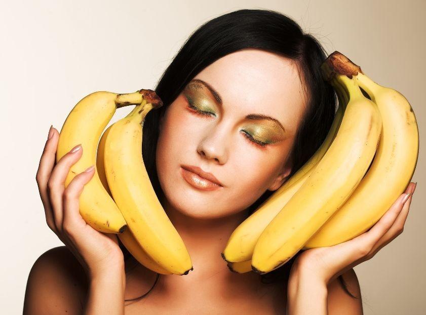 benefícios da banana para o cabelo