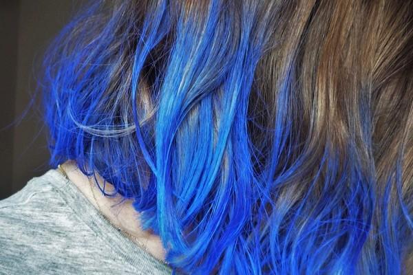 cabelo azul