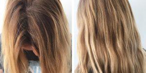 máscaras caseiras para clarear o cabelo