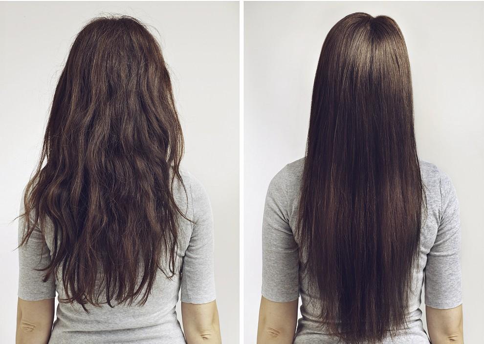 cabelo com frizz receitas