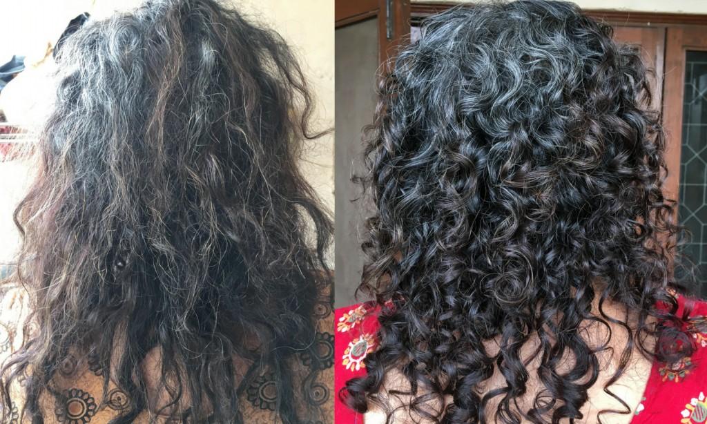 tratamento para cabelo com frizz