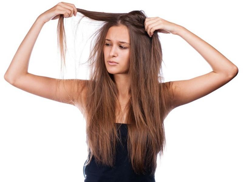 cabelos danificados