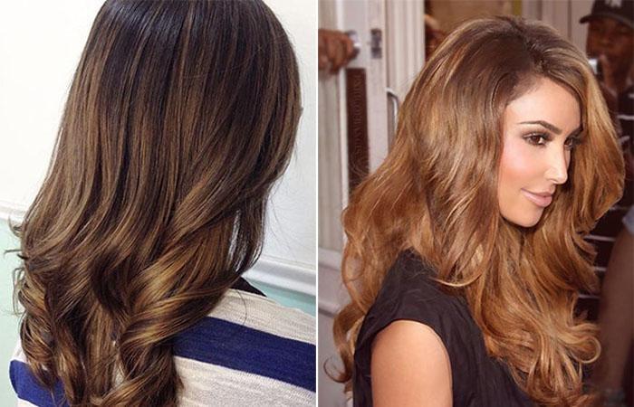 cabelo pintado com noz