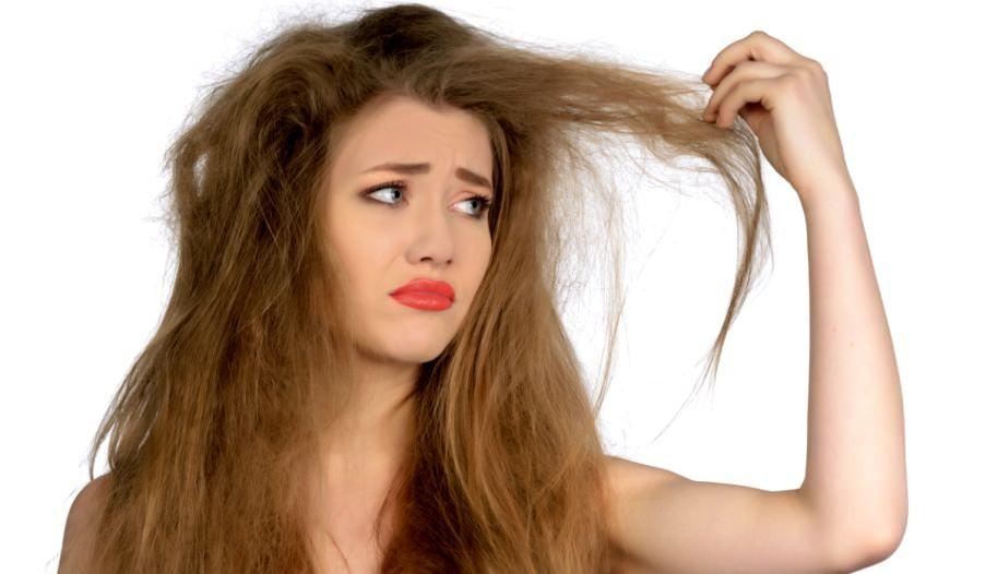 cabelo ressecado