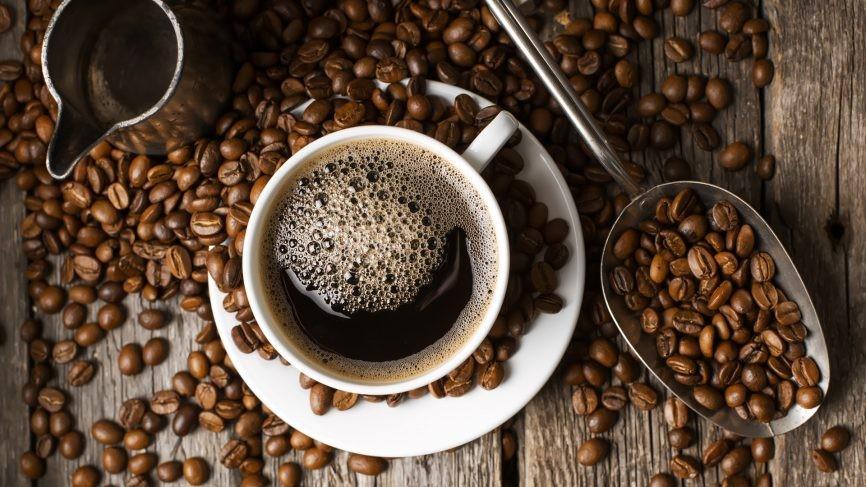 café para o cabelo