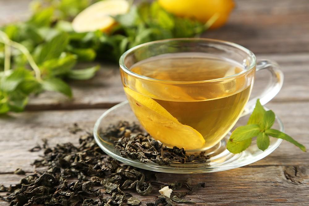 como fazer o chá verde?