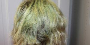 dicas naturais para eliminar a cor verde do cabelo