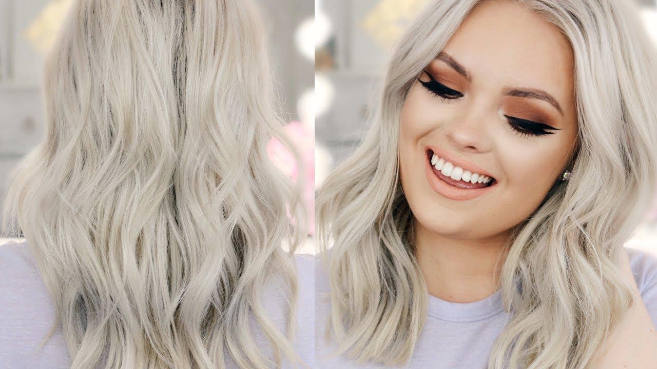 cores de cabelo loiro platinado tendencia 2019