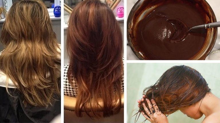 receitas para escurecer o cabelo
