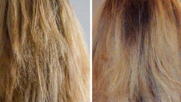 máscaras caseiras para restaurar os cabelos danificados