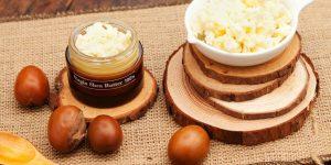 manteiga de karite para o cabelo