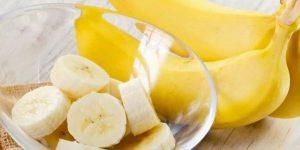 mascara de banana para o cabelo
