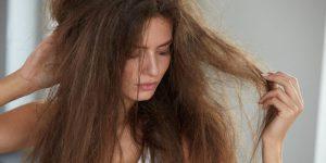 mascara feita com glicerina para cabelos ressecados
