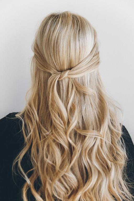 penteado para noivas half up