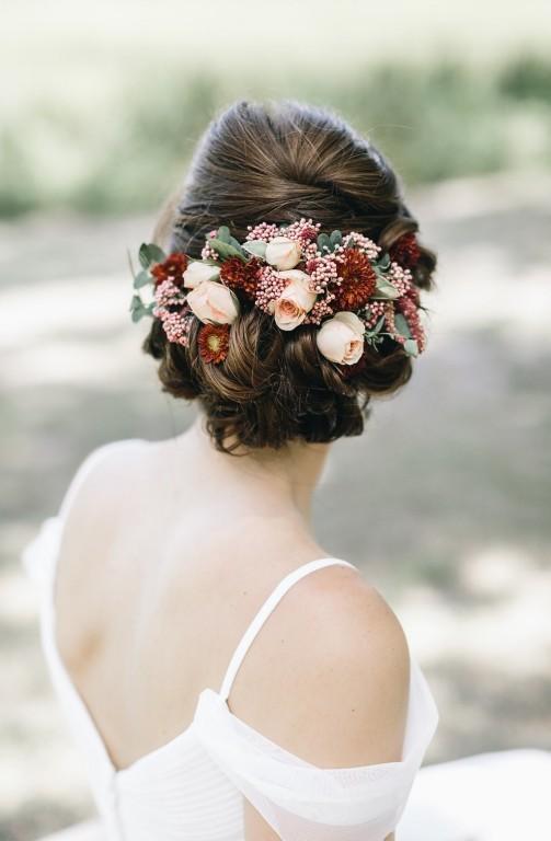 penteados romântico para noivas