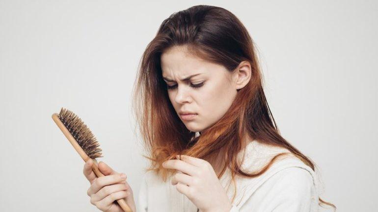 máscaras caseiras para parar a queda de cabelo