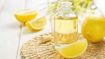 suco de limão para cabelo