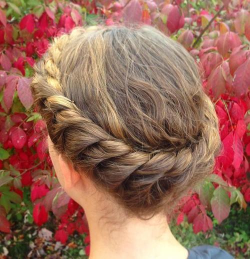 penteados trançados para cabelos