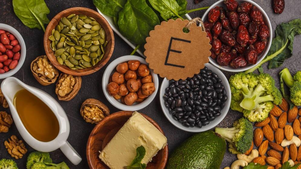quais os principais alimentos ricos em vitamina E?